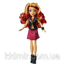 Май Литл Пони Эквестрия герлз Сансет Шиммер My Little Pony Equestria Girls Sunset Shimmer Hasbro