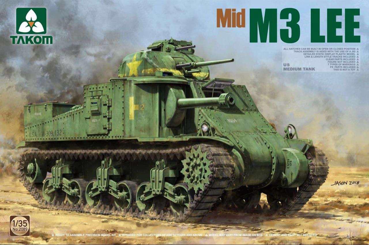 M3 LEE (средний). 1/35 TAKOM 2089