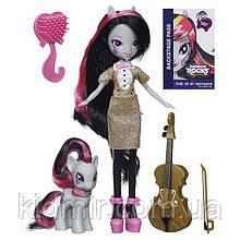 Май Литл Пони Эквестрия герлз Октавия Мелоди с пони My Little Pony Equestria Girls Octavia Melody Hasbro