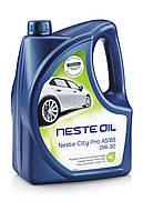 Моторное масло Neste City Pro 0W-30 (4л).