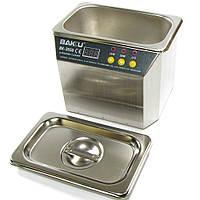 Ультразвуковая  ванна BAKU BK3550 в металлическом корпусе (двухрежимная 30W/50W, 0.7L) (ID:5195)
