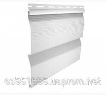Белый 3,05х0,23м. Сайдинг (Корабельный брус) виниловый Ю-пласт