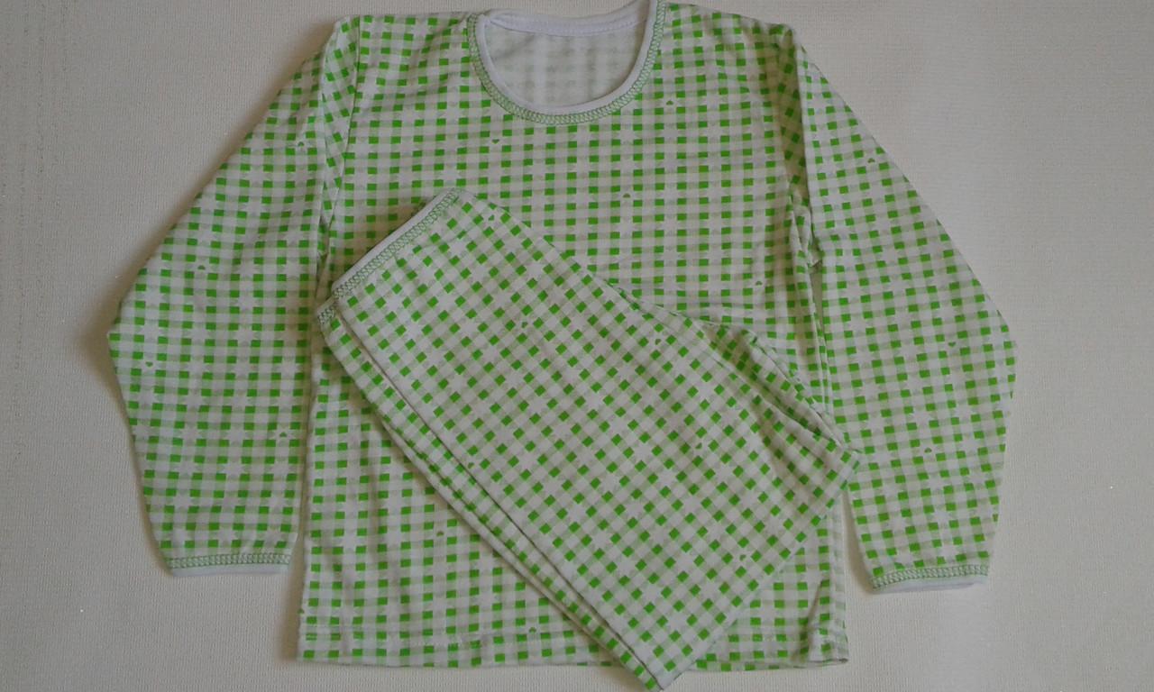 Пижамы детские теплые на мальчиков, х/б 100%. Размер 26,32.От 2шт по 62грн