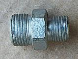 Штуцер переходной S=24/32 (M 20x1,5 - M 27x1,5), фото 2