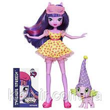 Моя Маленькая пони Твайлайт Спаркл с питомцем My Little Pony Equestria Girls Twilight Sparkle Hasbro