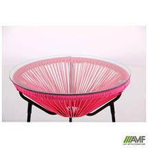 """Стол Agave черный, ротанг розовый (серия Loft) TM """"AMF"""", фото 3"""