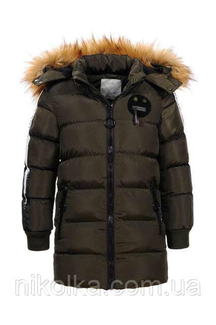 Куртки зимние для мальчиков оптом, Glo-story, 92/98-128 рр., арт.BMA-6460