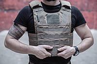 Плитоноска MAX-SV чехол для бронепластин PLATE CARRIER KOYOT - 4103-3