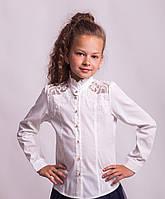 Блузка школьная нарядная 8022