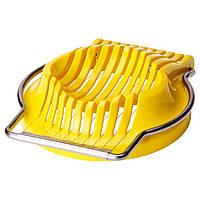 СЛЭТ Яйцерезка, желтый, 80213984, IKEA, ИКЕА, SLAT