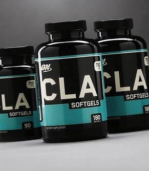 Жиросжигатель CLA Optimum Nutrition 750 mg 90 softgels, фото 2