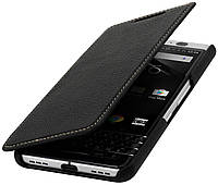 Чехол BlackBerry KeyOne StilGut book type without clip книжка черный