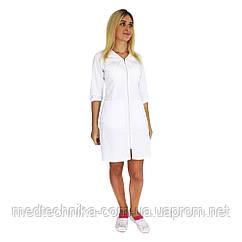 Медицинский халат женский Прага белый
