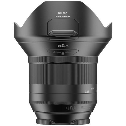 Объектив IRIX 15mm f/2.4 Blackstone Lens for Nikon F (IL-15BS-NF)