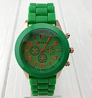Копия ярких женских часов Geneva Emerald