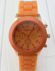 Копия яркие женских часов Geneva Orange
