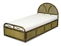 Односпальная кровать 11/05 натуральный ротанг