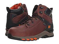 """Ботинки/Сапоги (Оригинал) Timberland PRO Hypercharge 6"""" Safety Toe WP Brown, фото 1"""