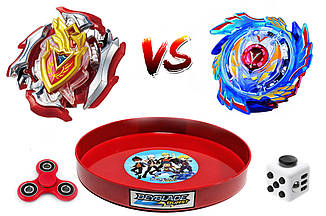 Beyblade Evolution + Арена + Valtryek V3 + AHILLES Набор