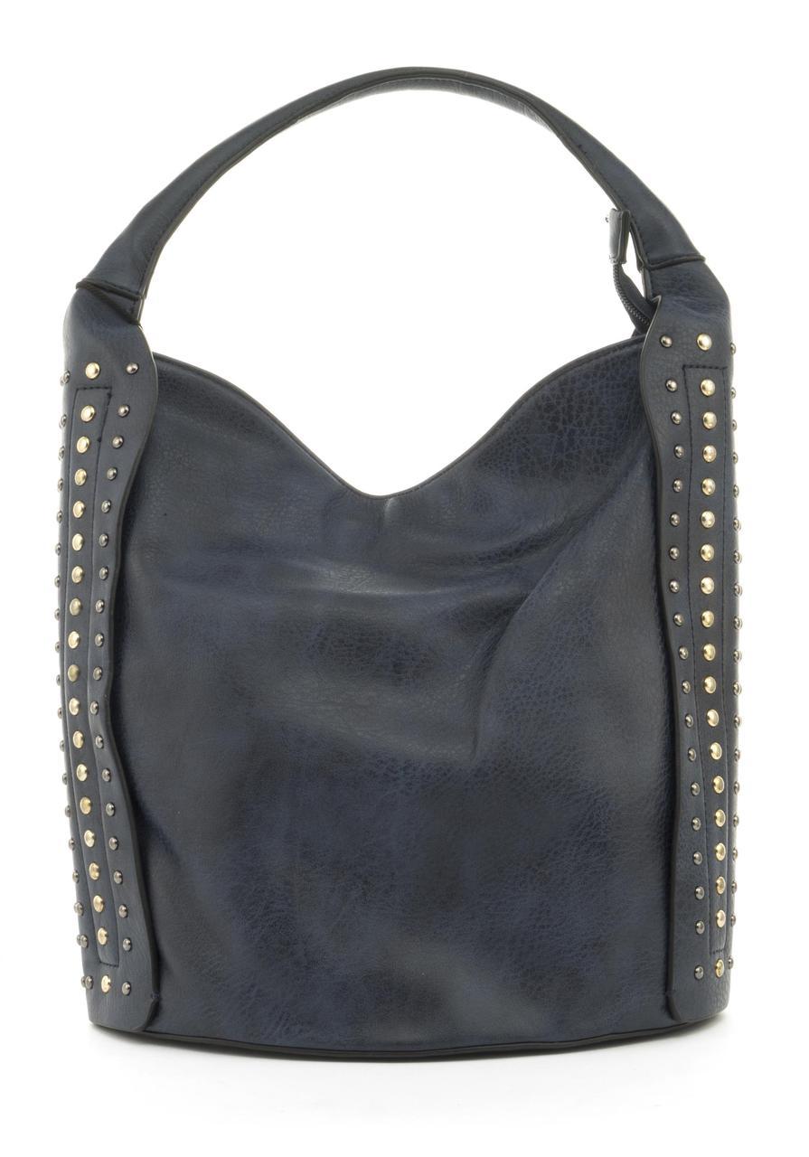 Удобная женская сумка из качественных материалов J&J art. HJ1116 синяя