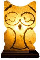 Соляная лампа Совушка