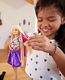 Лялька Барбі кольорові локони, фото 2