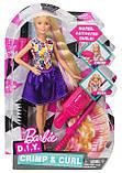 Лялька Барбі кольорові локони, фото 3