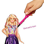 Лялька Барбі кольорові локони, фото 6