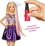 Лялька Барбі кольорові локони, фото 8