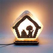 Соляная лампа Домик