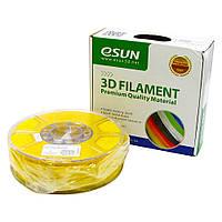 Пластик для 3D печати eSUN ABS, 1.75 мм, 1 кг, жёлтый (ID:14269)