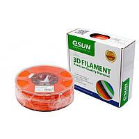 Пластик для 3D печати eSUN ABS, 1.75 мм, 1 кг, оранжевый (ID:12441)