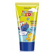 2359 Faberlic. Зубная паста для детей Груша серии Techno Kids 6+, 50 мл.Фаберлик 2359