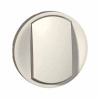 Лицевая панель - Программа Celiane - выключатель 1-полюсный / переключатель белый