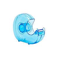 Диспенсер для скотча универсальный Rubin пластмассовый 12-18-24 мм голубой