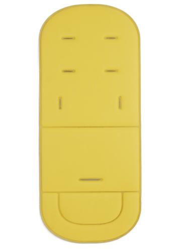 Матрасик - вкладыш в коляску Желтый Ярче, чем на фото!!!!!