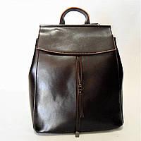Женский рюкзак GАLАNTY коричневого цвета из натуральной кожи EEW-047703, фото 1
