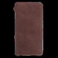 Портмоне Fisher Gifts v.2.0. кирпич (кожа)
