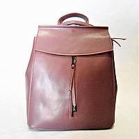 Женский рюкзак GАLАNTY розового цвета из натуральной кожи EEW-044005, фото 1