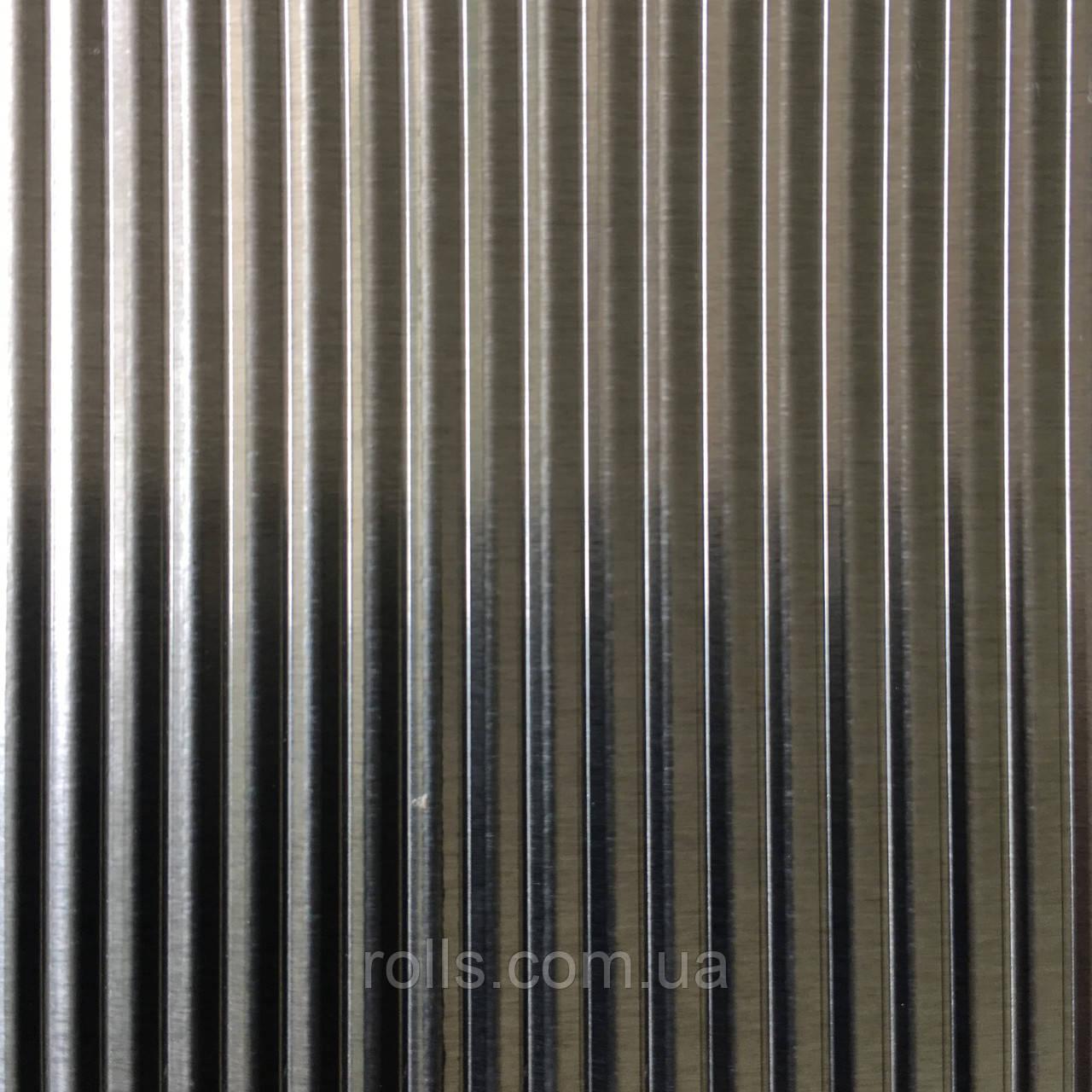 Лист рифленый алюминиевый 1,0х1000х2000мм PREFA DESIGN 921 WAVE CROSS 5mm WELLE QUER
