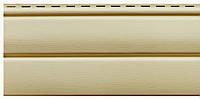 Кремовый 3,40х0,23м. Сайдинг (Блок-Хаус) виниловый Ю-пласт