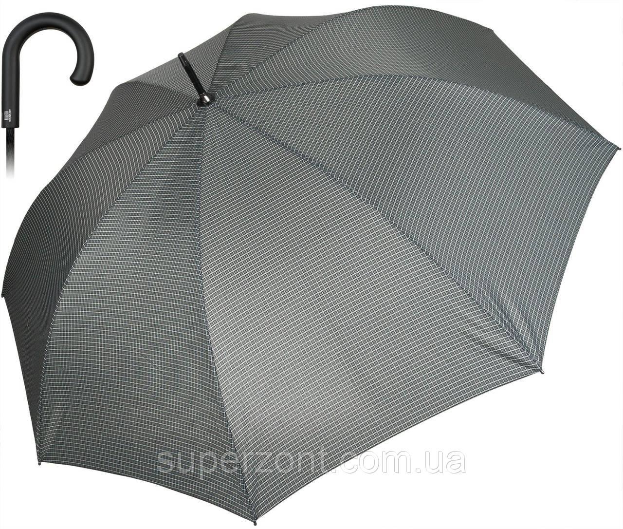 Зонт-трость, полуавтомат Perletti Technology 21612.3;7669, темно серый