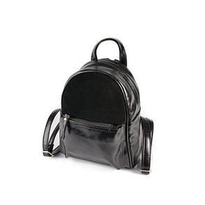 Женский комбинированный рюкзак М124-27/замш, фото 2