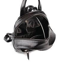 Женский комбинированный рюкзак М124-27/замш, фото 3