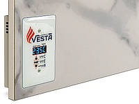 Обогреватель керамический настенный Vesta Energy PRO 1000 белый. Обогреет 20 м кв, фото 1