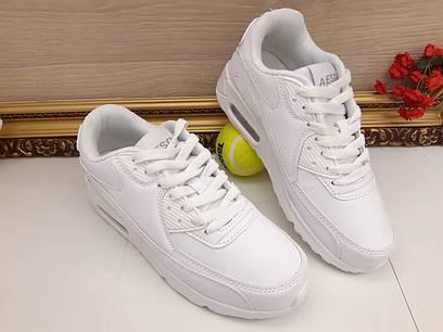 Стильные белые женские кроссовки в стиле Air  продажа, цена вся ... 2995df1547b