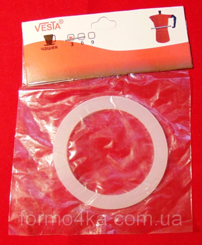 Резинка-прокладка для гейзерной нерж. кофеварки на 6чашек