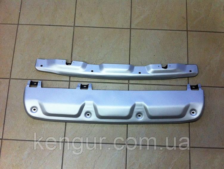 Накладки на бампера HONDA CRV 2012- - Kengur- запчасти, автотюнинг, аксесуары. Оптом и врозницу в Луцке