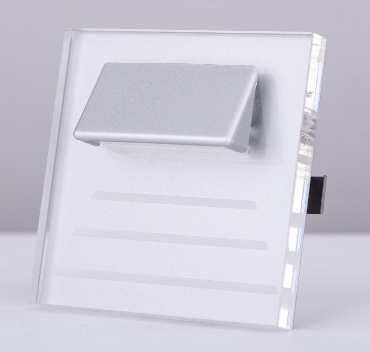 Подсветка LED декоративная CRISTAL 04, алюминий, холодный белый