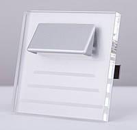 Подсветка LED декоративная CRISTAL 04, алюминий, холодный белый, фото 1